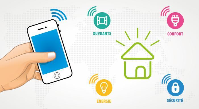 Des objets connectés pour une maison intelligente !