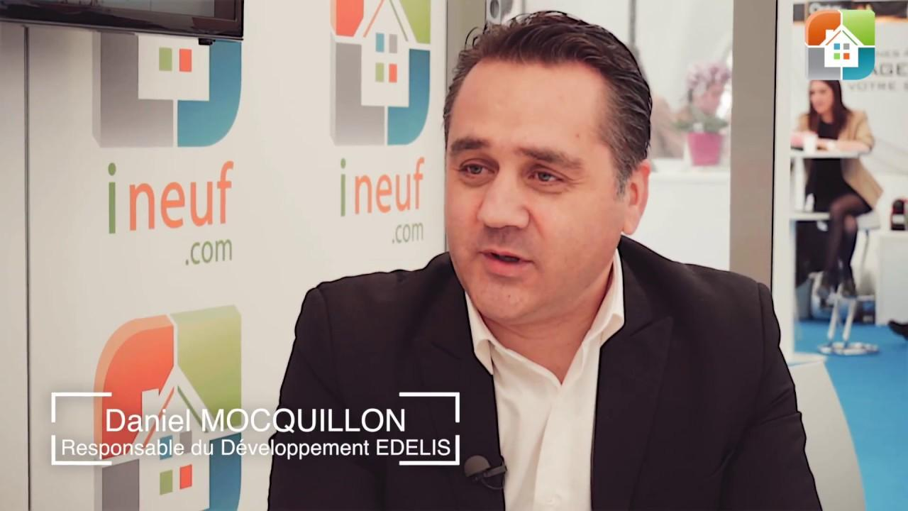 Interview de Daniel Mocquillon – Edelis – Salon Immobilier Nice 2017