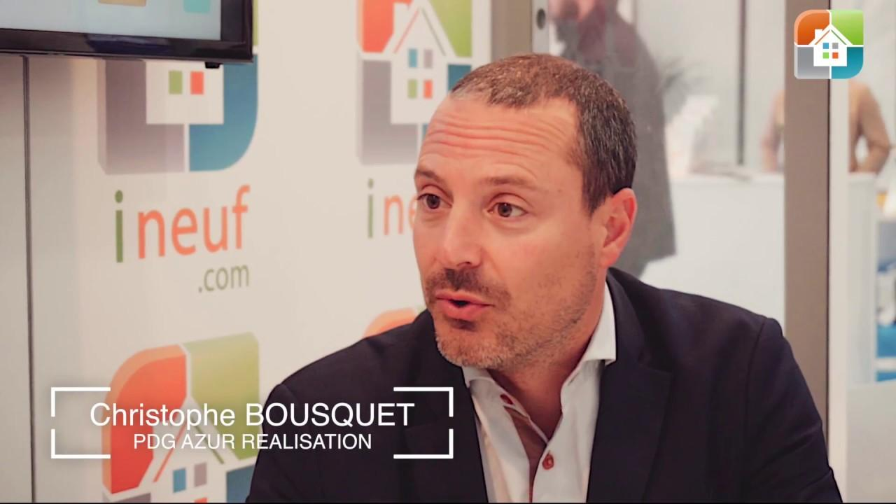 Interview de Christophe Bousquet – Azur Réalisation – Salon Immobilier Nice 2017