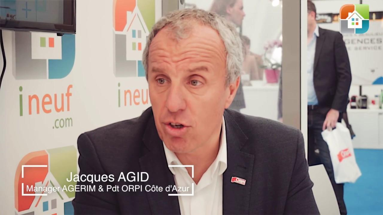 Interview de Jacques Agid – Orpi Agerim – Salon Immobilier Nice 2017