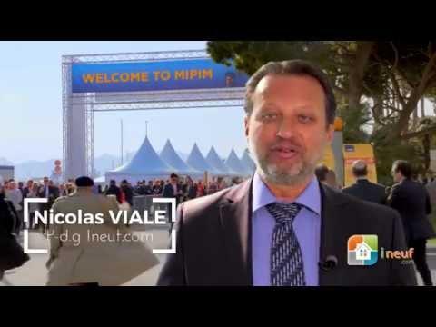 INEUF.com – Nicolas VIALE au MIPIM 2016