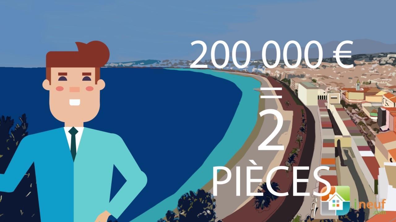 Investir à Nice pour 200 000 € ?