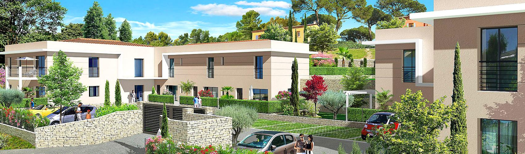 Photo du programme immobilier neuf VALB-819 à Valbonne