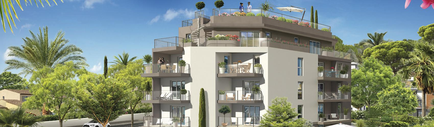 Photo du programme immobilier neuf ANT-861 à ANTIBES
