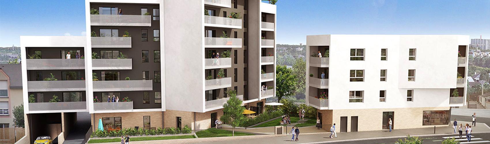 Photo du programme immobilier neuf BRET-2309 à Rennes